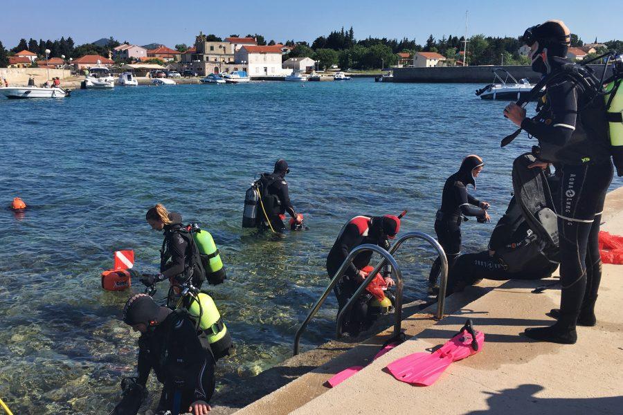 Protekli vikend u Čeprljandi i Ugljanu u znaku čišćenja mjesta i podmorja