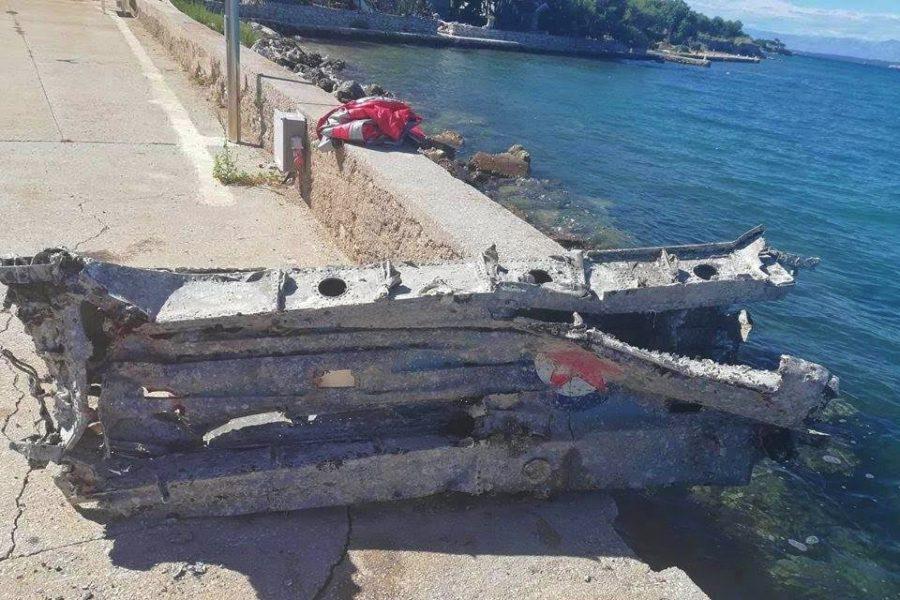 Pokraj Malog Lukorana izronjena olupina aviona bivše JNA