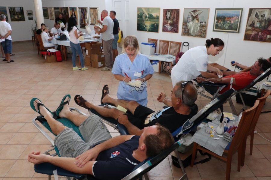 DDK Preko: U ljetnoj akciji prikupljeno 36 doza krvi