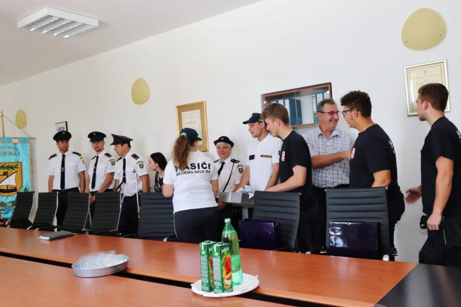 Slovački vatrogasci u prijateljskom posjetu Općini Preko