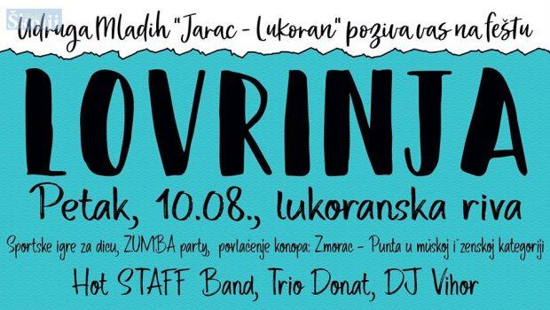 Lukoran: Cjelodnevni zabavni program za Lovrinju