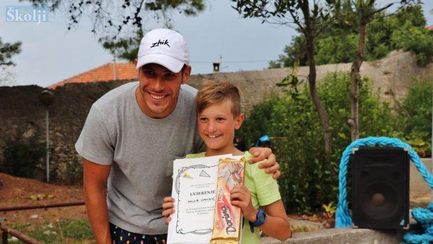 Pavle Mandić pobjednik regate Škole jedrenja u Lukoranu