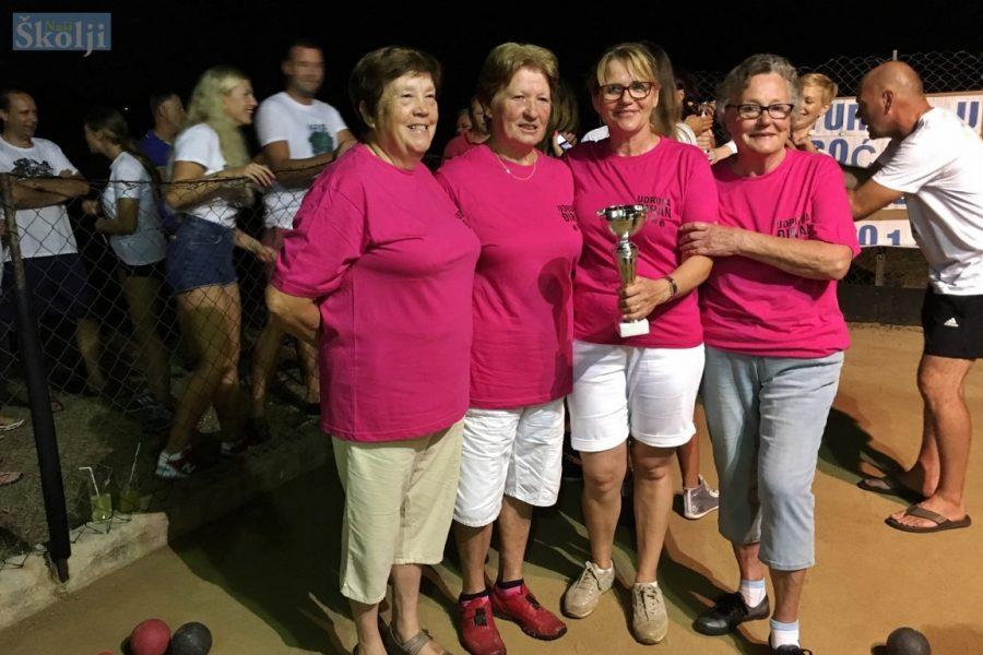 Ugljan: Ekipa Điran Muline osvojila Turnir u boćanju za žene
