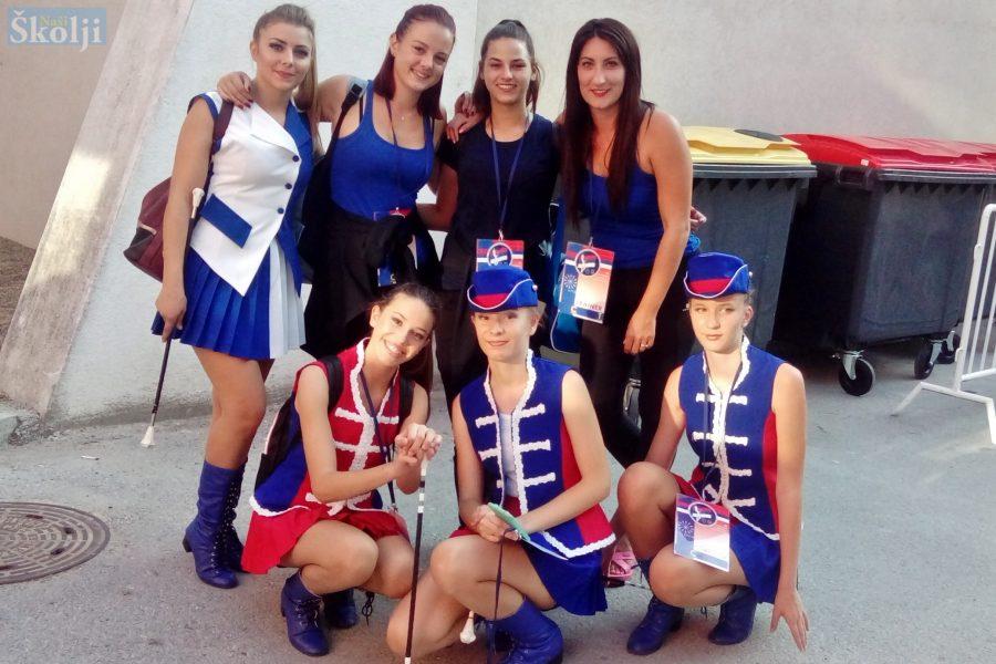 "Mažoretkinja Anđela Perin ""srebrna"" na Europskom prvenstvu"