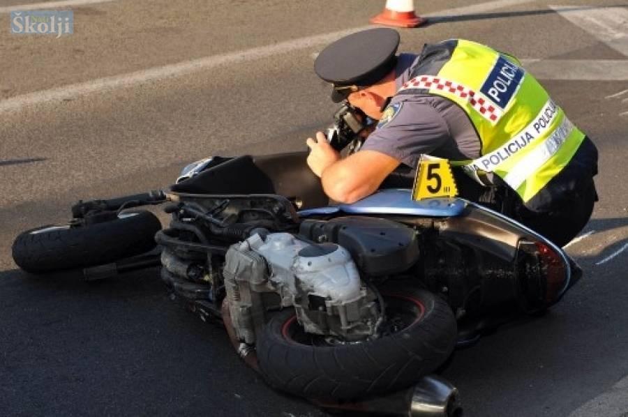 U prometnoj nesreći u Preku teško ozlijeđeni muškarac i dijete