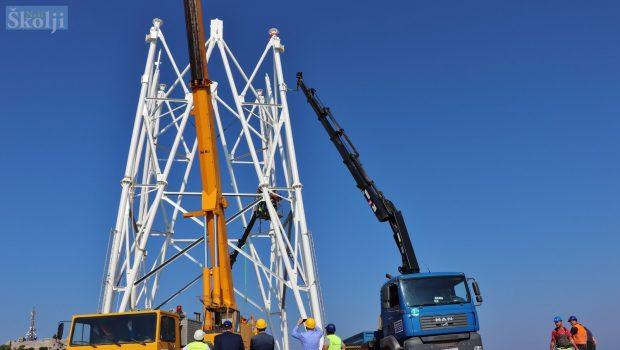 Na Maloj Glavi sagrađen 21 metar novog antenskog stupa