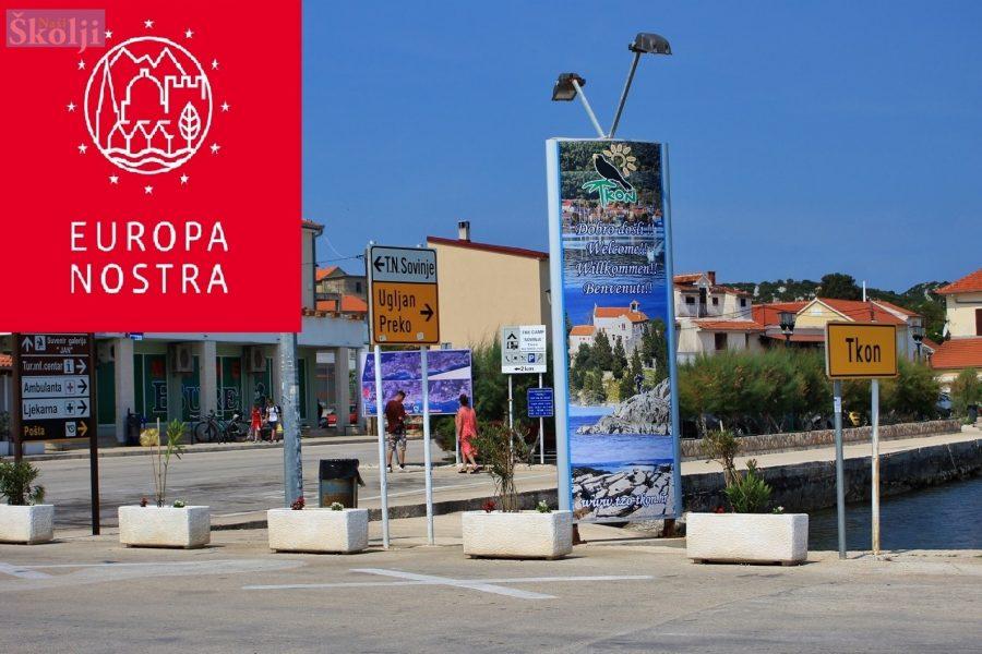 Općina Tkon primljena u kulturnu organizaciju Europa Nostra