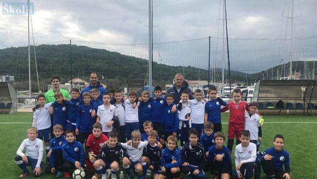 Mladi uzrasti splitskog Hajduka gostovali u Sutomišćici