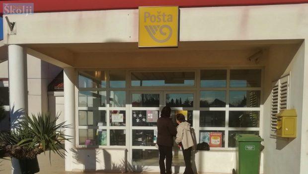 Poštanski ured u Ugljanu zimi će raditi samo poslijepodne, tri sata dnevno