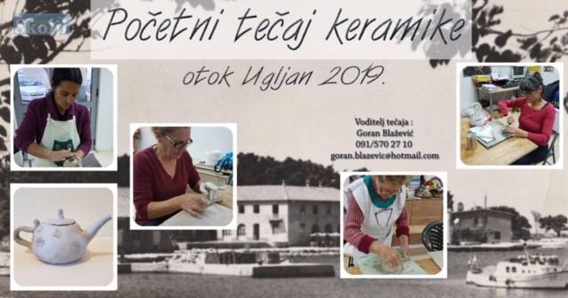 Početni tečaj keramike u Ugljanu
