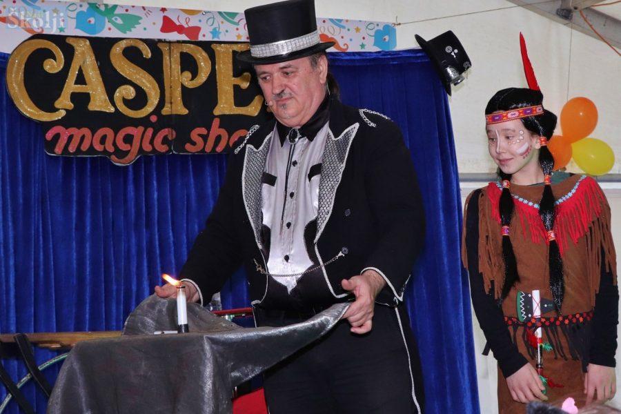 Preko: Dječje maškare uz mađioničara Caspera i tombolu