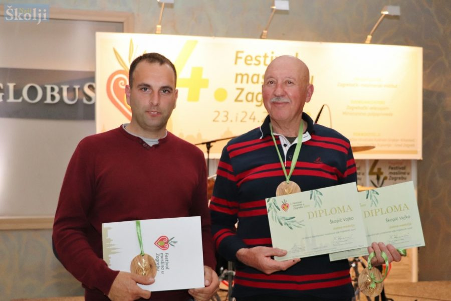 Festival maslina Zagreb: Ugljancima tri zlata i srebro!
