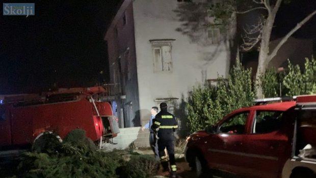 Preko: Izbio požar na napuštenoj kući u Jazu
