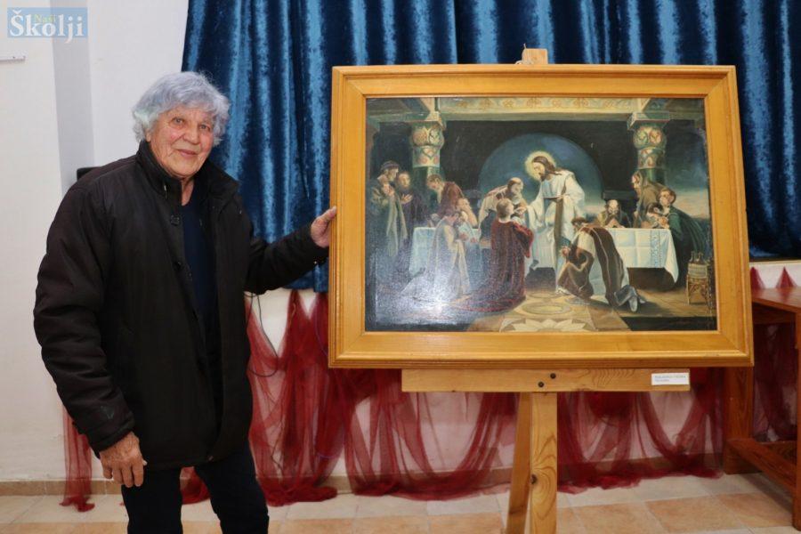 Anselmo Dorkin prvi put izložio restaurirani Križni put