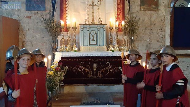 Veli Iž: I ove godine okupili su se najmlađi čuvari Božjega groba