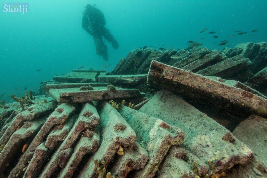 U podmorju Molata otkriveni ostaci antičkoga brodoloma iz 1. stoljeća
