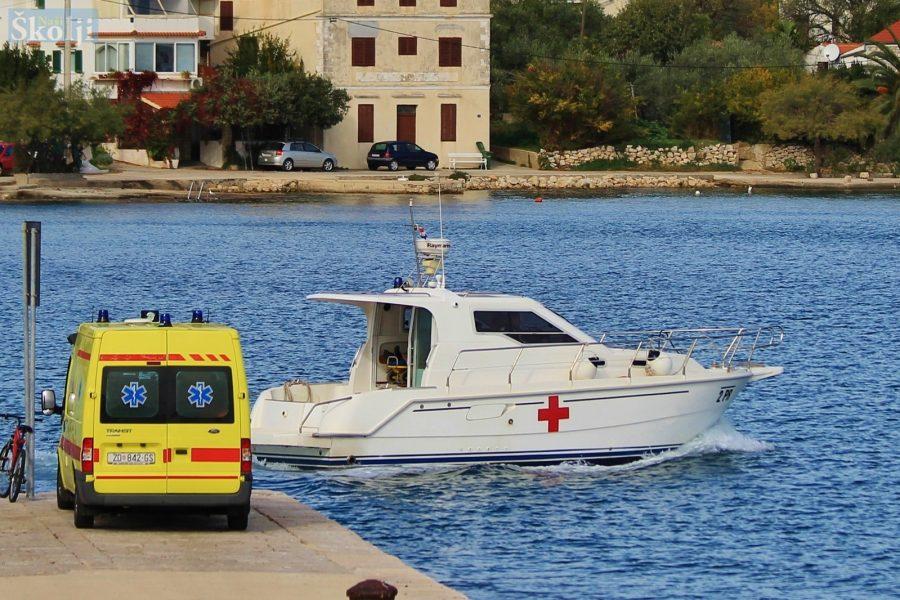 Potpisan novi ugovor za hitni prijevoz pacijenata s Ugljana i Pašmana
