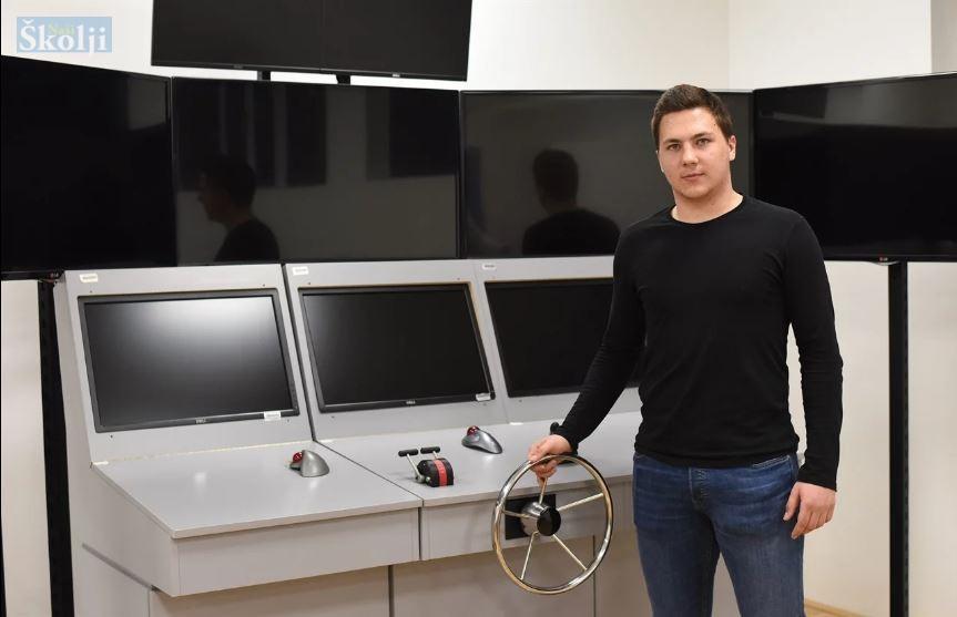 Maturant David Zelenčić iz Kali najbolji je nautičar u Hrvatskoj!