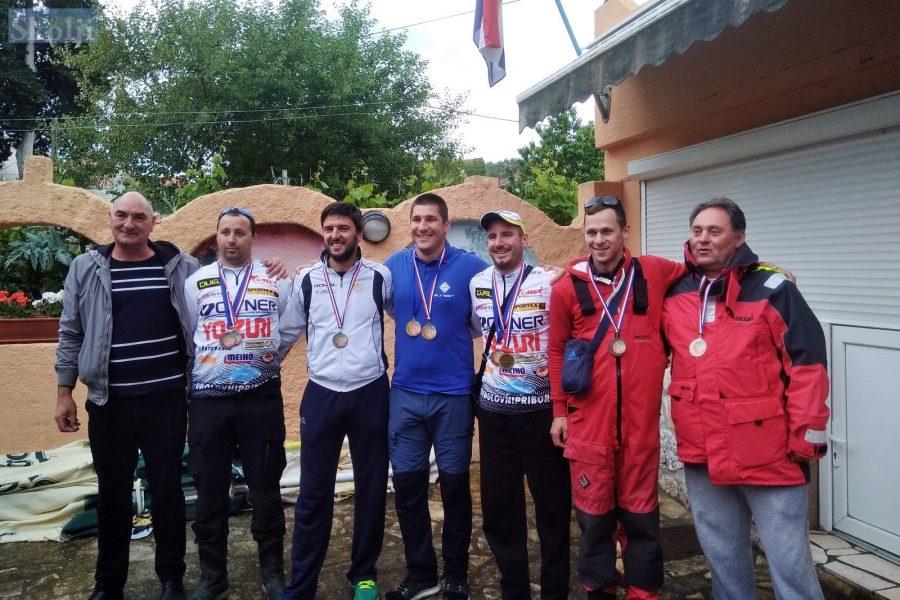 Ekipa ŠRD Zubatac Zadar slavila na županijskom natjecanju u Banju