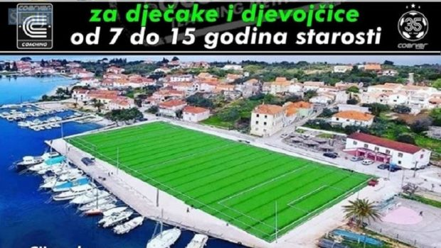 Ljetni nogometni kamp u Sutomišćici