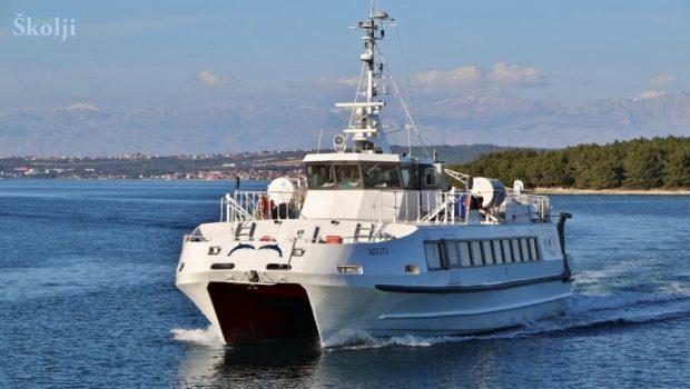 Od 15. lipnja do 15. rujna iz Zadra u Rijeku brzim brodom