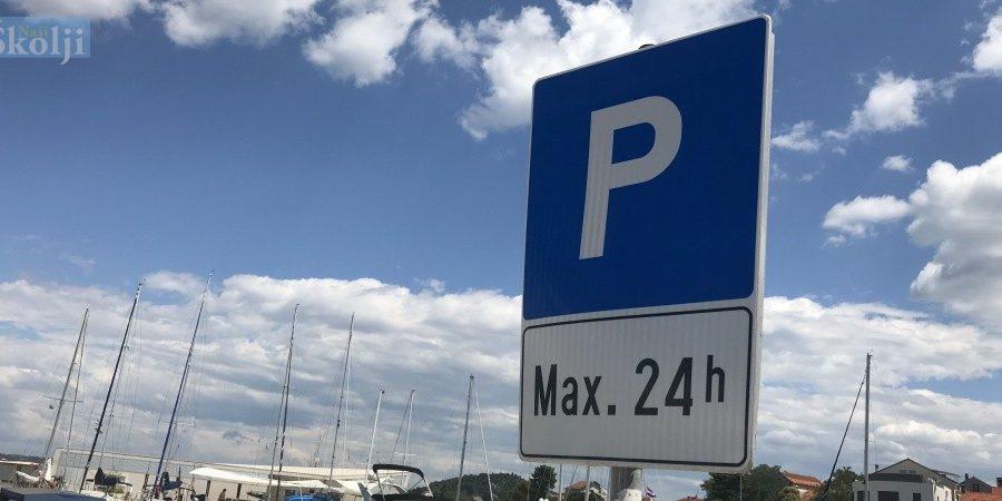 Od 1. srpnja do 31. kolovoza naplata parkiranja na području Općine Preko