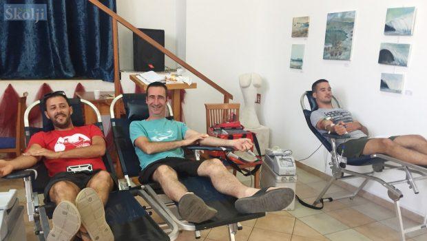 U ljetnoj akciji članovi DDK Preko prikupili 30 doza krvi