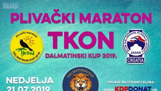 KDP Donat Zadar organizira Plivački maraton Tkon 2019.