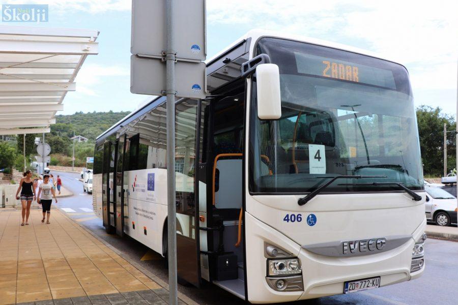 Na liniju Preko – Muline stigao novi autobus s rampom za invalide