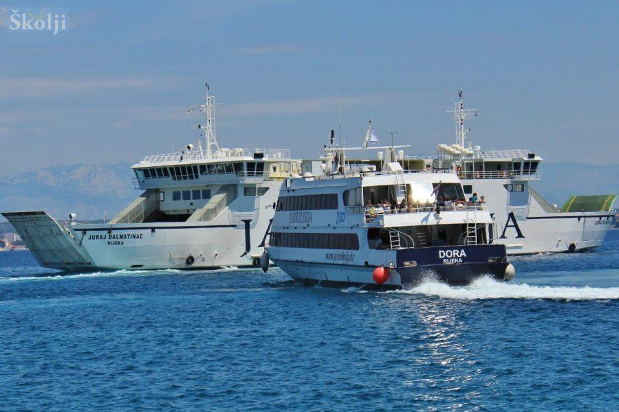 U Preku 3,7 posto više prometa brodova i putnika nego lani
