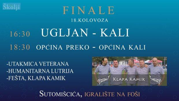 Nogometna fešta u Sutomišćici: Finale Kupa otoka, utakmica veterana i koncert klape Kamik