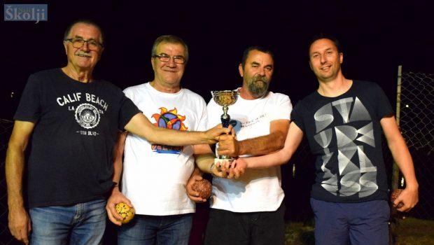 Ekipa Selo osvojila Turnir u boćanju za muškarce u Ugljanu