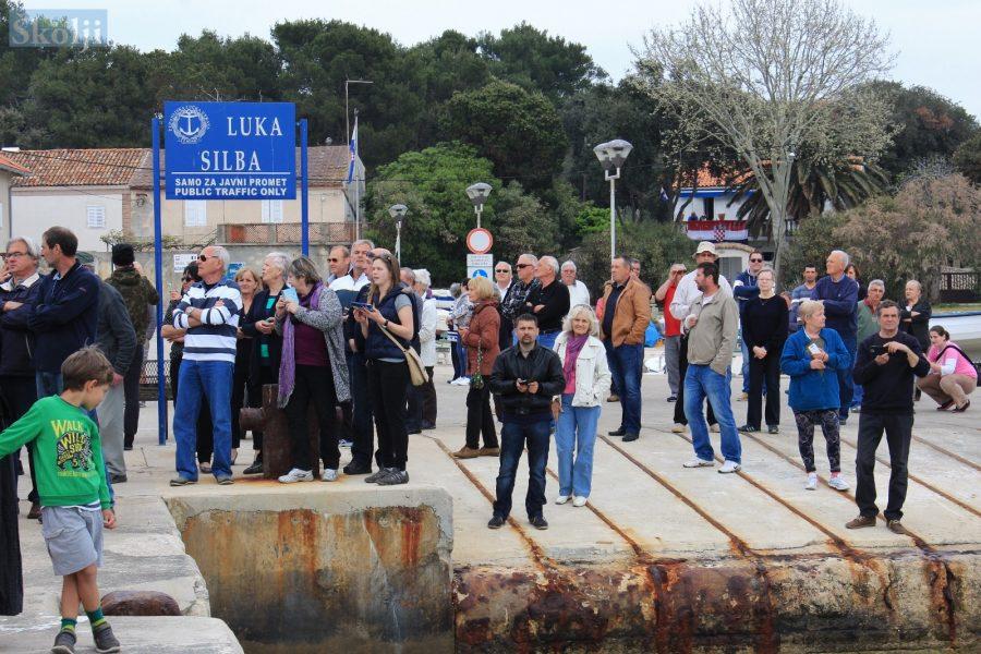 Zbog sanacije luke, Silba do 1. lipnja 2020. ostaje bez trajekta