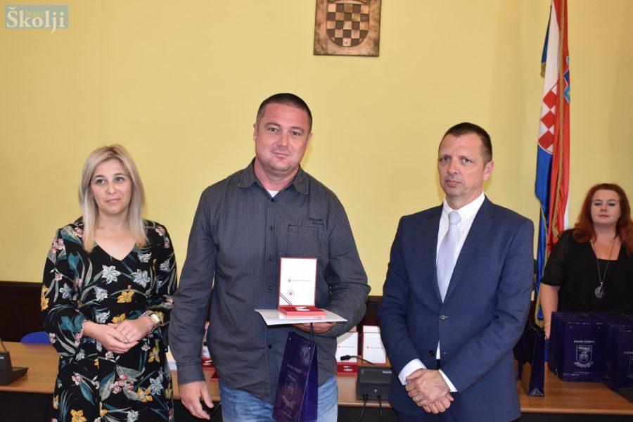 Tradicionalni prijem u županiji: Renato Kezija darovao krv 50 puta