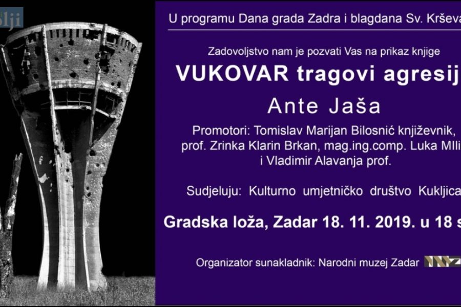 Promocija knjige fotografa i publicista Ante Jaše iz Kukljice