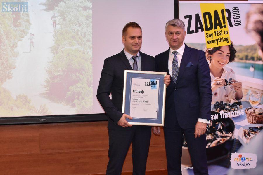 "TZO Preko dobila nagradu za projekt ""Gospodar otoka"""