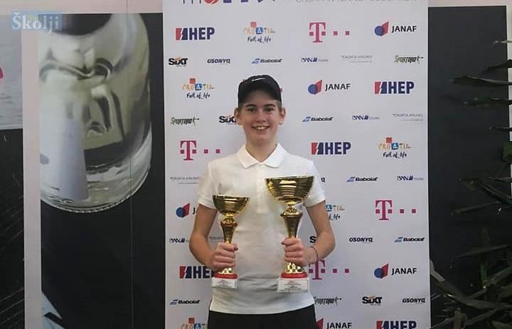Chiara Jerolimov, porijeklom iz Preka, državna prvakinja u tenisu!