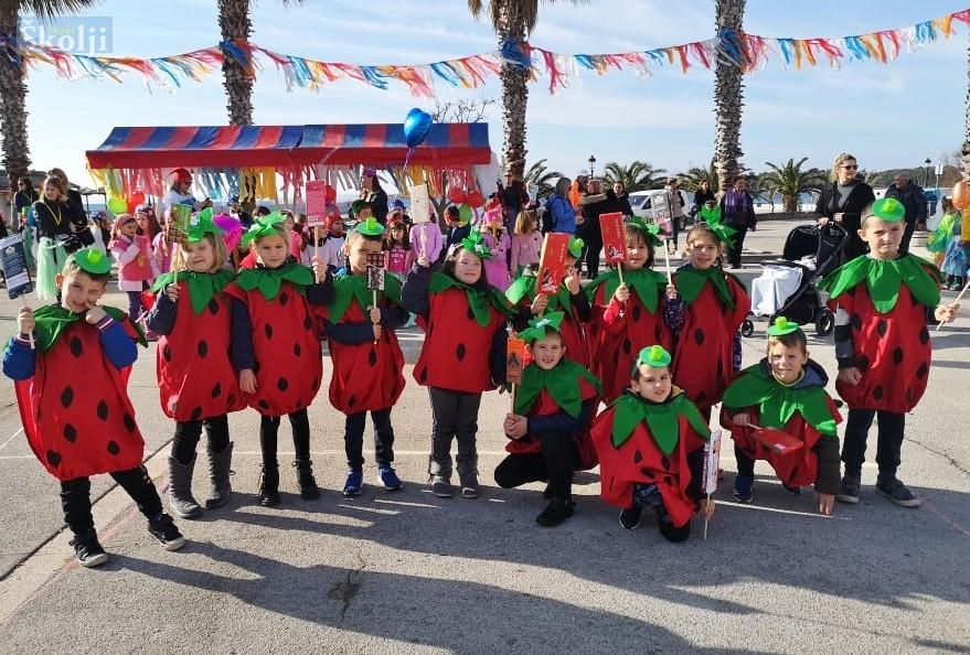 Grmaljići i Trešnjice na Dječjem karnevaliću na Viru