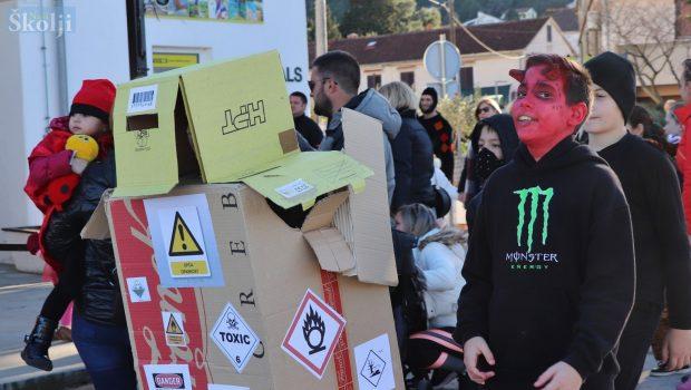 Dječji karneval na Magazinu u Preku