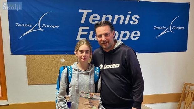 Chiara Jerolimov brončana na Tennis Europe turniru u Austriji