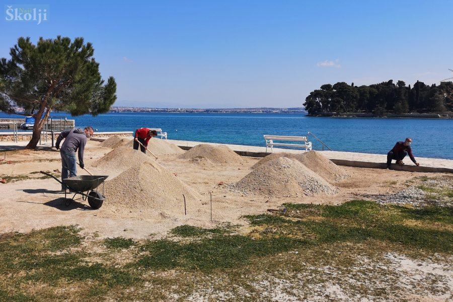 Općina Preko i Vile Dalmacija zajednički uređuju plažu Jaz