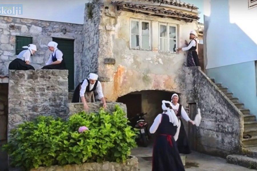 """Na Brižićevu dvoru u Preku i Školjiću pjevačica Jessica snimila spot za pjesmu """"Gadna navika"""""""