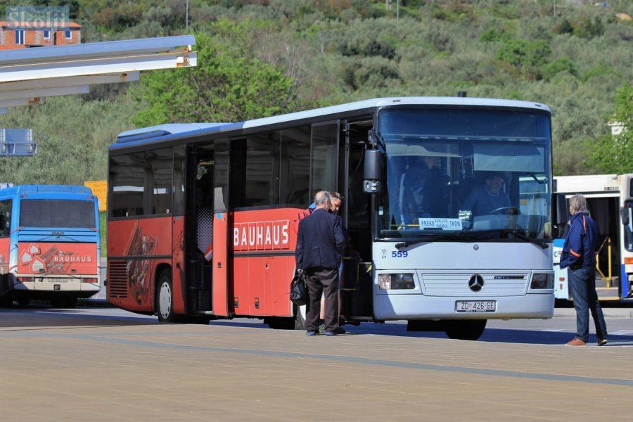 Od 5. svibnja novi, privremeni vozni red autobusa na Ugljanu i Pašmanu