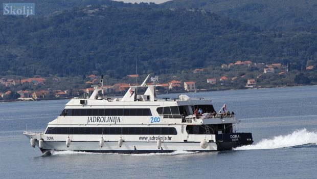 Od 1. lipnja uspostavlja se brodska linija Preko – Zadar