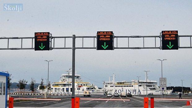 Trajektna linija Preko – Ošljak – Zadar vraća se na stari plovidbeni red