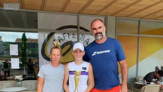 MALA PREŠKA Chiara Jerolimov prvakinja je Dalmacije za uzrast do 14 godina