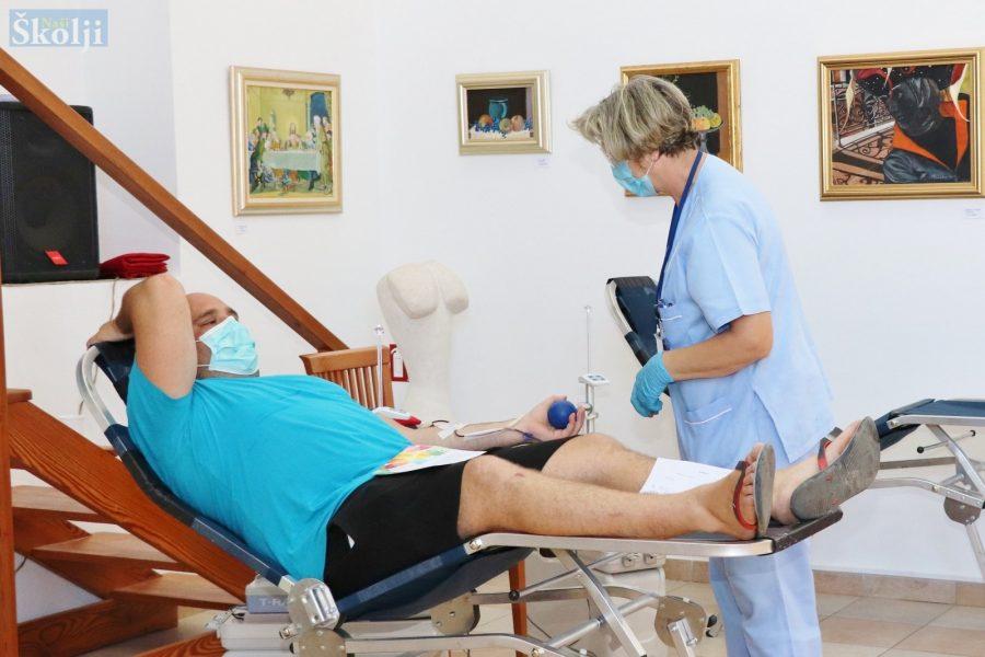 U prvoj ovogodišnjoj akciji DDK Preko prikupljeno 29 doza krvi