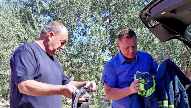 Kolege iz Slovenije donirali DVD-u Preko kacige, odijela, zaštitne pojaseve…