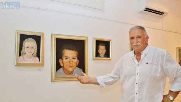 """""""Moj svit"""" – 13-godišnji presjek rada samoukog slikara Mladena Paleke"""