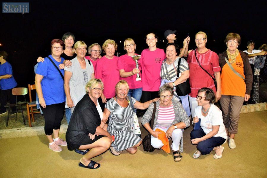 Pomlađene veteranke Mulina pobjednice Turnira u boćanju za žene